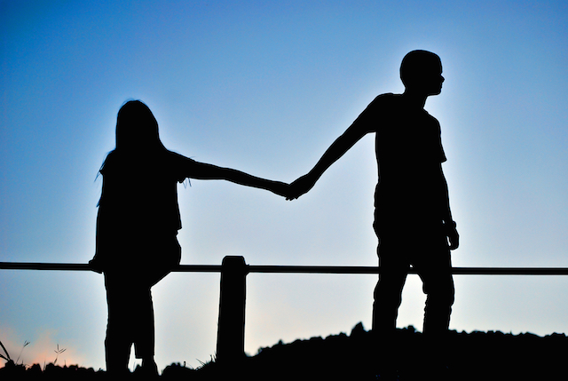 Image result for a parting couple