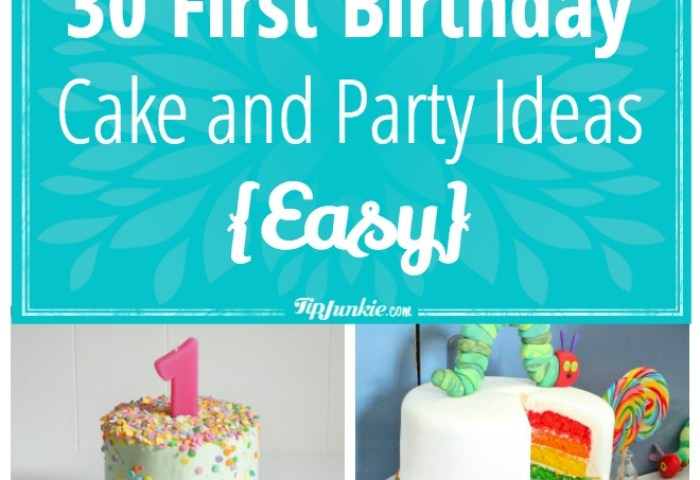 94 First Birthday Cake Ideas Homemade Simple Boy First Birthday