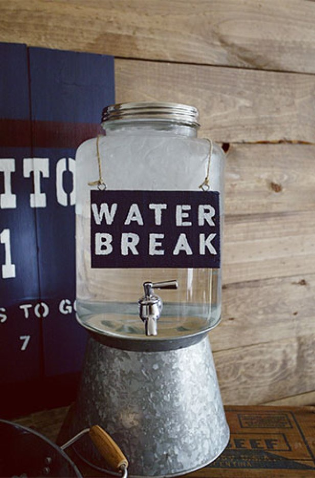 Game Day Water Cooler