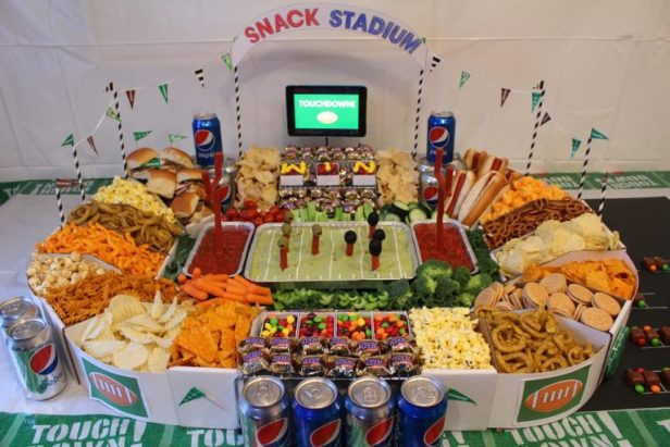 How to Build a Supreme Snack Stadium