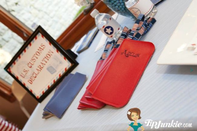 Table Airplane Themed Ideas Settings