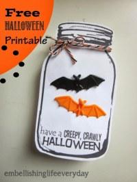 halloween candy gram tags