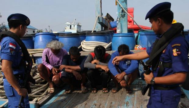 Menteri Susi Tahan 14 Kontener Ikan dan Lobster Curian