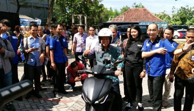 5.000 Motor Listrik GESITS Karya ITS Dipesan Telkom