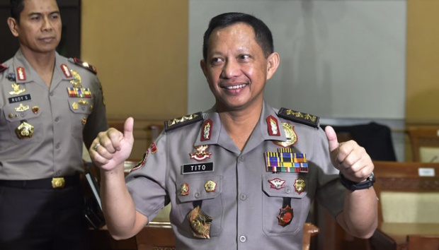 Indonesia Has a New Police Chief, Tito Karnavian