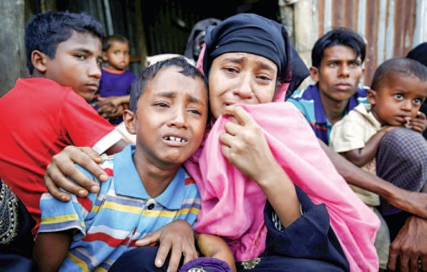 Indonesian Gov`t Sends Humanitarian Aid to Rohingya People