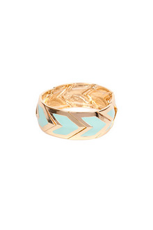 Tobi Colored Chevron Design Bracelet