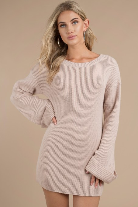 Allison Rose Sweater Dress