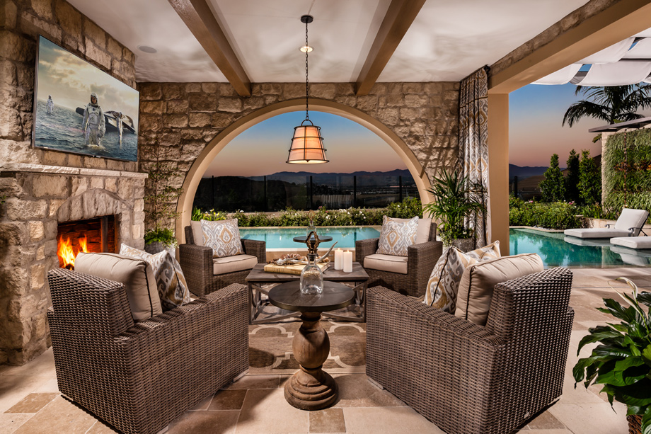 New Luxury Homes For Sale in Irvine, CA | Toll Brothers at ... on Fancy Outdoor Living id=72126