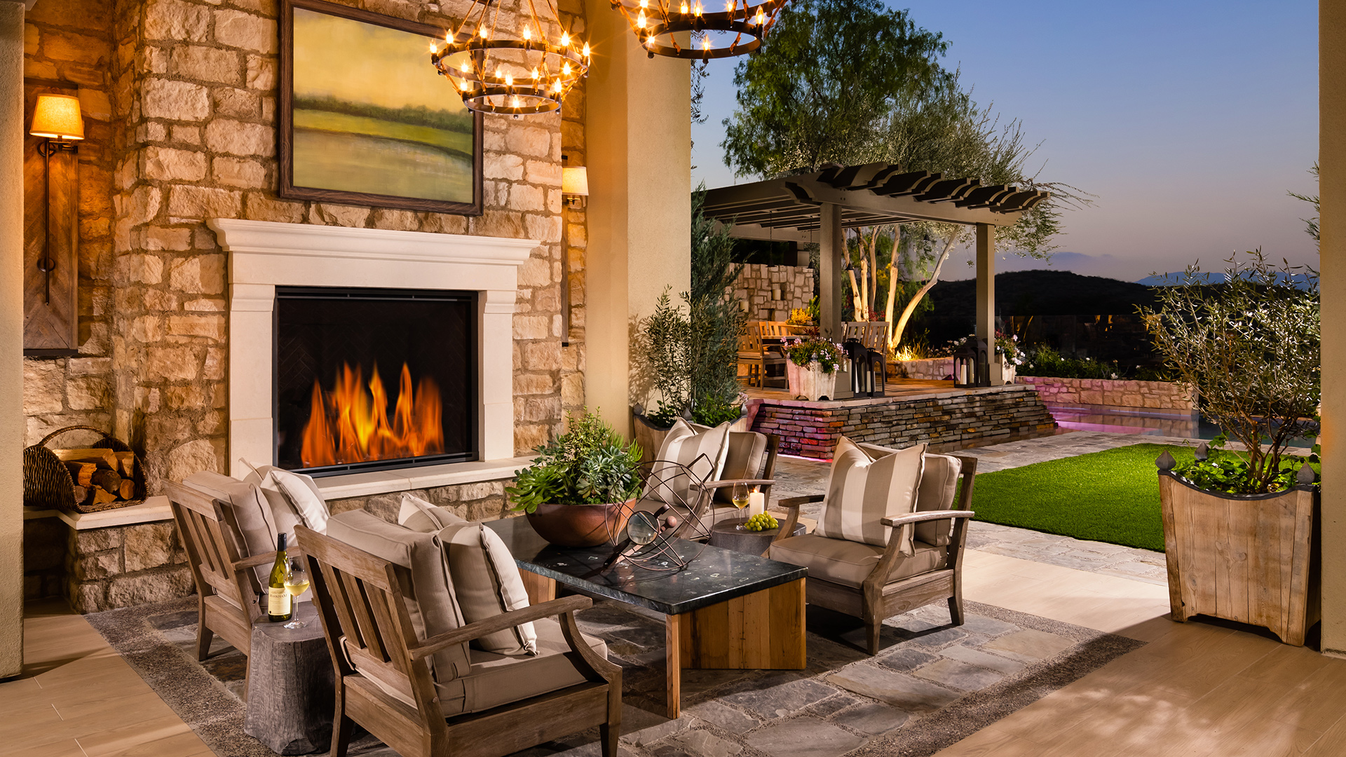 Danville CA New Homes for Sale   Iron Oak at Alamo Creek on Sequoia Outdoor Living id=77271