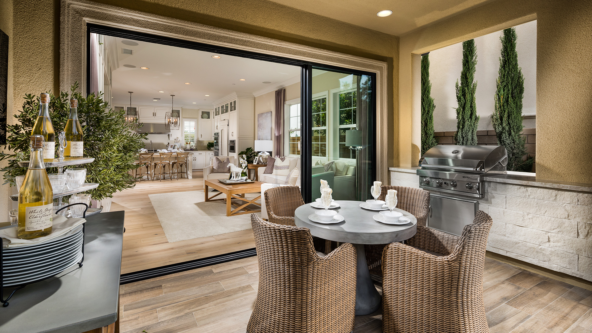 Lake Forest CA New Construction Homes | Lexington at Parkside on Fancy Outdoor Living id=24109