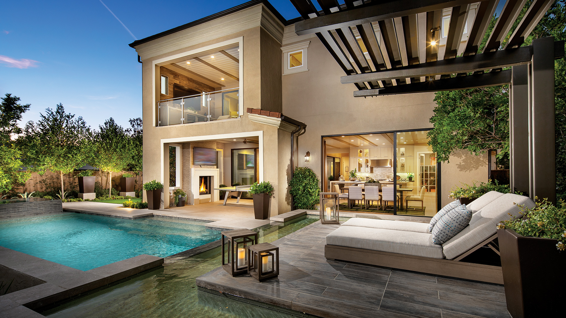 New Luxury Homes for Sale in Porter Ranch, CA | Hillcrest ... on Cc Outdoor Living id=61451