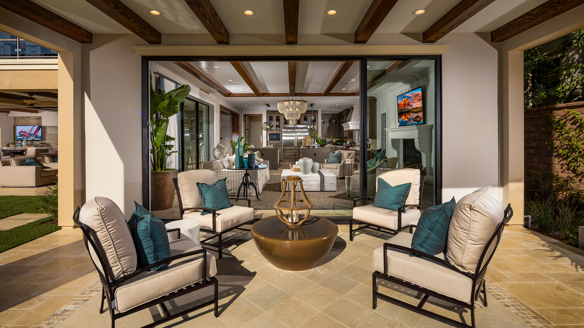 New Luxury Homes For Sale in San Diego, CA | Palomar at ... on Enclosed Outdoor Living Spaces  id=44843