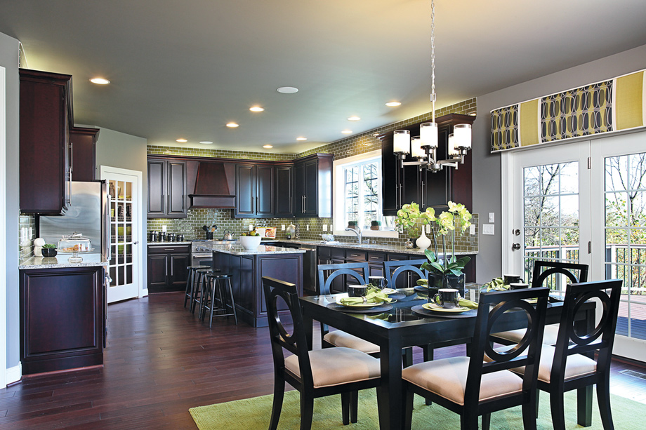 Steeplechase of Northville: luxury new homes in Northville, MI on Modern:ln_Sacsp1Ua= Kitchen Model  id=79309