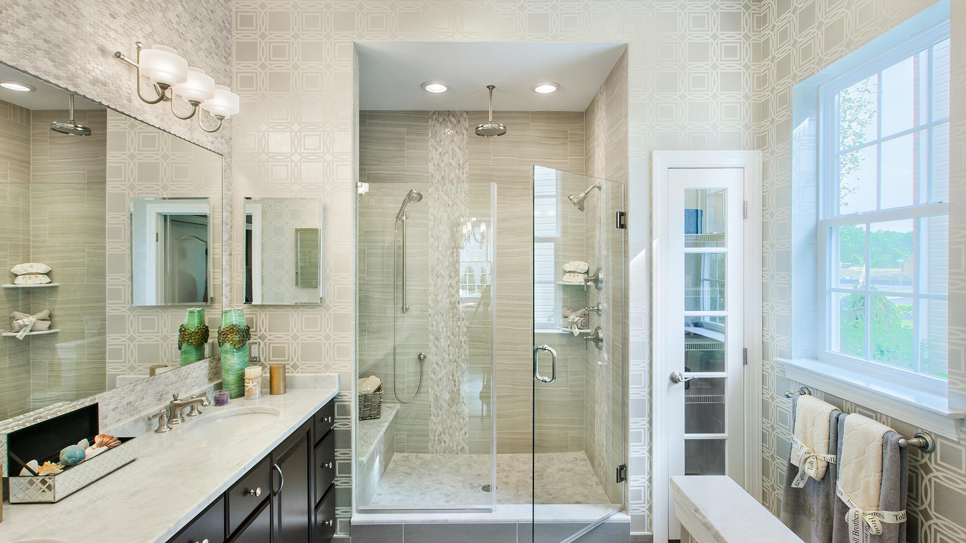Bathroom Inspiration Gallery | Toll Brothers® Luxury Homes on Bathroom Model Design  id=81652