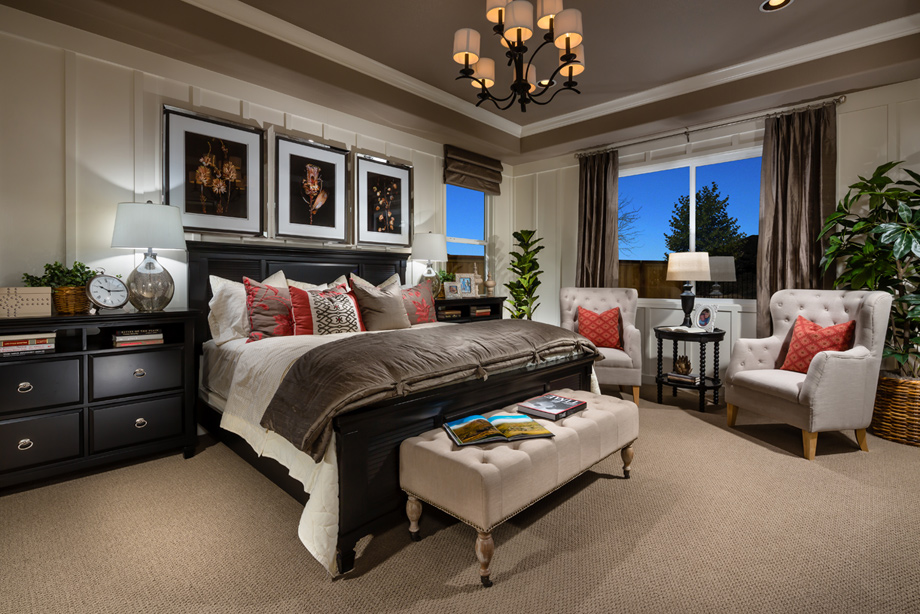 Reno NV New Homes for Sale   Presidio at Damonte Ranch on New Model Bedroom  id=26400