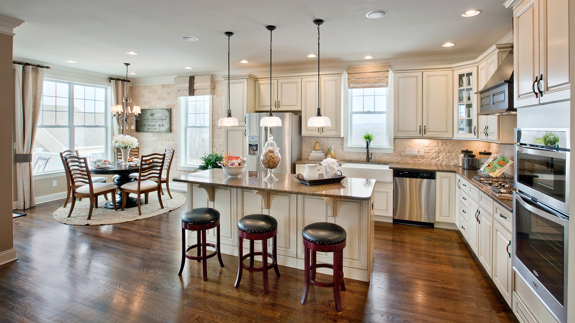 kitchen inspiration gallery | toll brothers® luxury homes