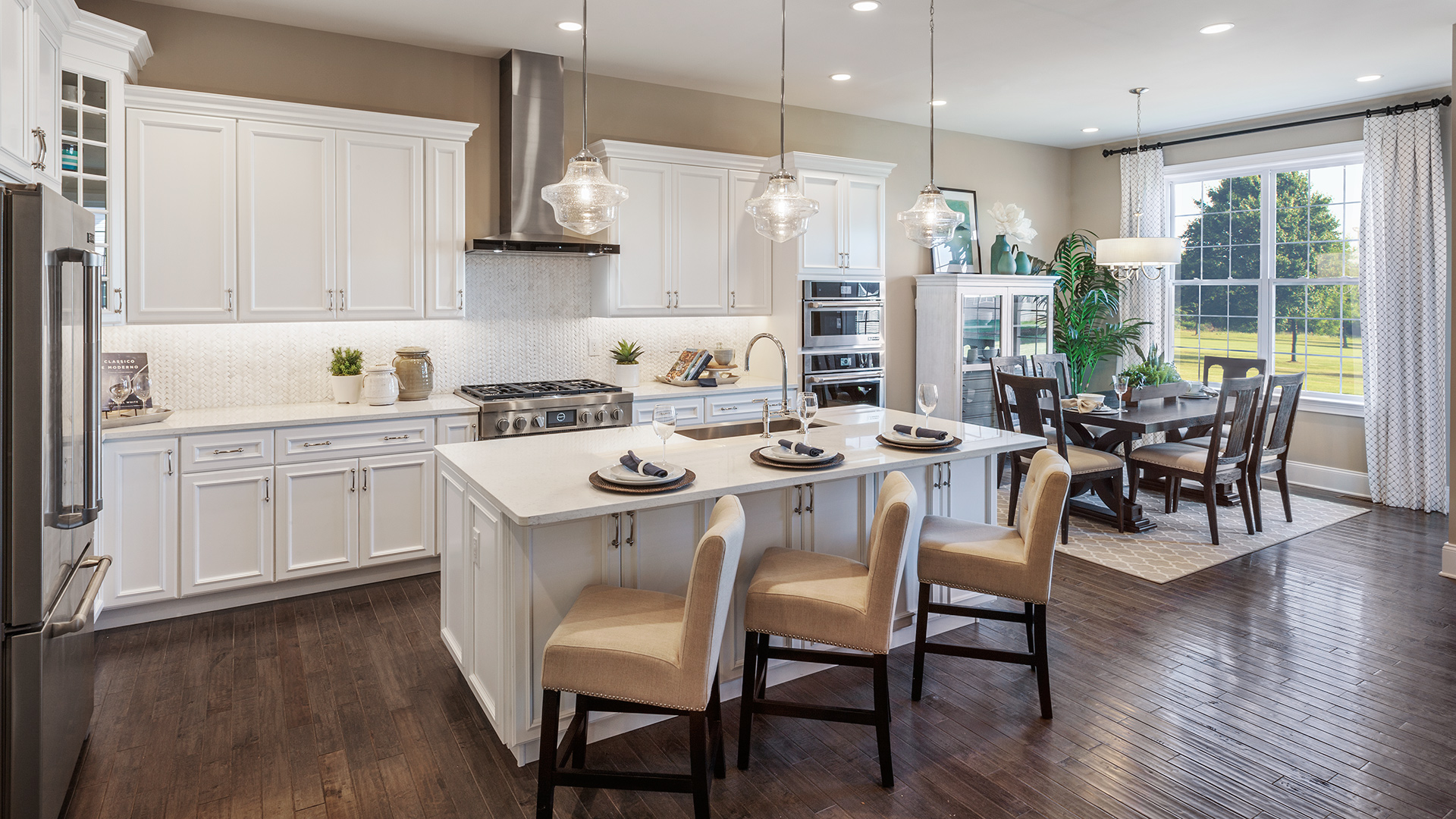 Kitchen Inspiration Gallery | Toll Brothers® Luxury Homes on Model Kitchens  id=46211