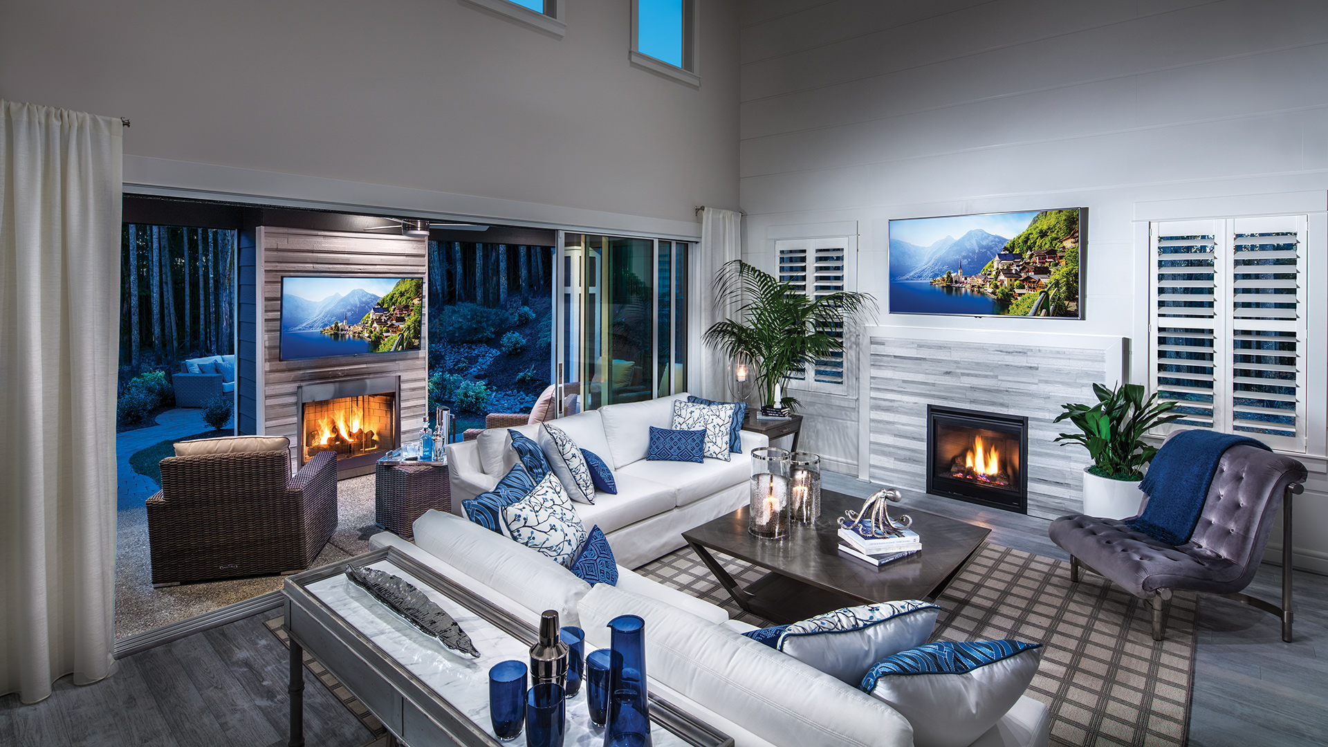 Bayview at Gig Harbor   The Sahalee Home Design on Seamless Indoor Outdoor Living id=80776