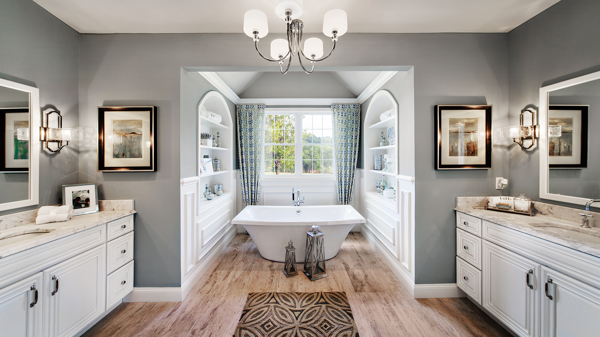 Kitchen Inspiration Gallery | Toll Brothers® Luxury Homes on Model Bathroom Ideas  id=58814