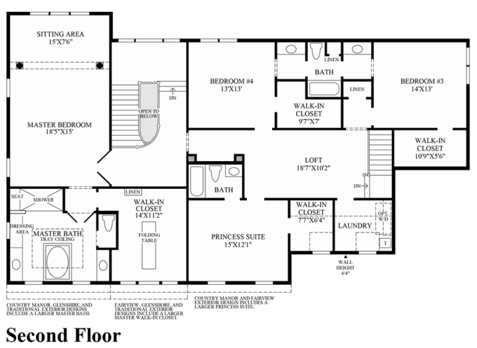 Toll Brothers Carlsbad Floor Plan: Toll Brothers Floor Plans