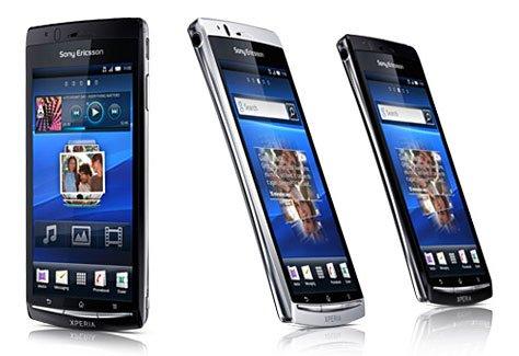 Sony Ericsson Xperia Arc : grand écran et ultra-fin