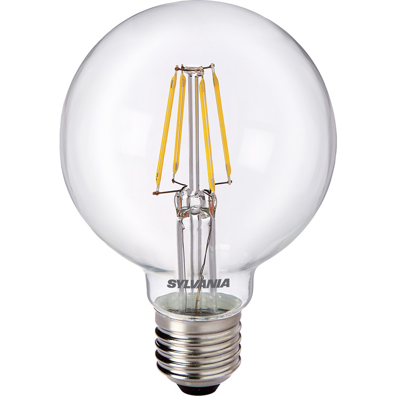 Sylvania LED Filament Effect G80 Globe Lamp 4W ES 470lm