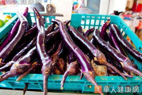 國外研究也證實茄子有護心、降膽固醇的功效。(圖片/華人健康網)