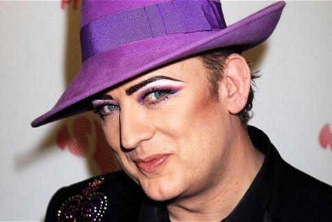 歌手喬治男孩表示自己就是靠荷爾蒙減肥法瘦身。(圖片/取材自英國《電訊報》)
