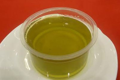 低氮澱粉點心示範:抹茶凍。(圖片提供/大千綜合醫院)