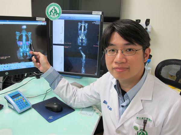 賴冠銘醫師表示,台灣每年約有500位淋巴腫瘤個案,其中長在胰臟的淋巴瘤極為稀少。(圖片提供/彰化基督教醫院)
