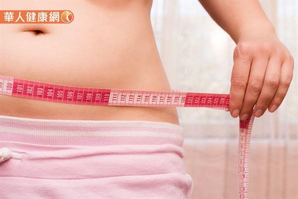 「蘋果型肥胖」主要集中於上半身的腰部及腹部,較容易發生胰島素的阻抗,增加罹患第二型糖尿病的風險。