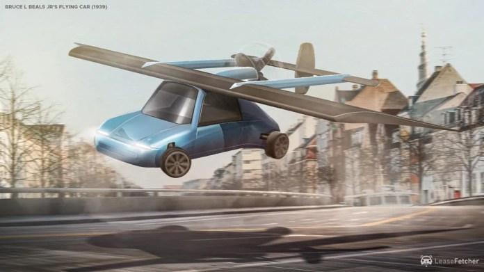 inventos  futuro movilidad avion coche volador