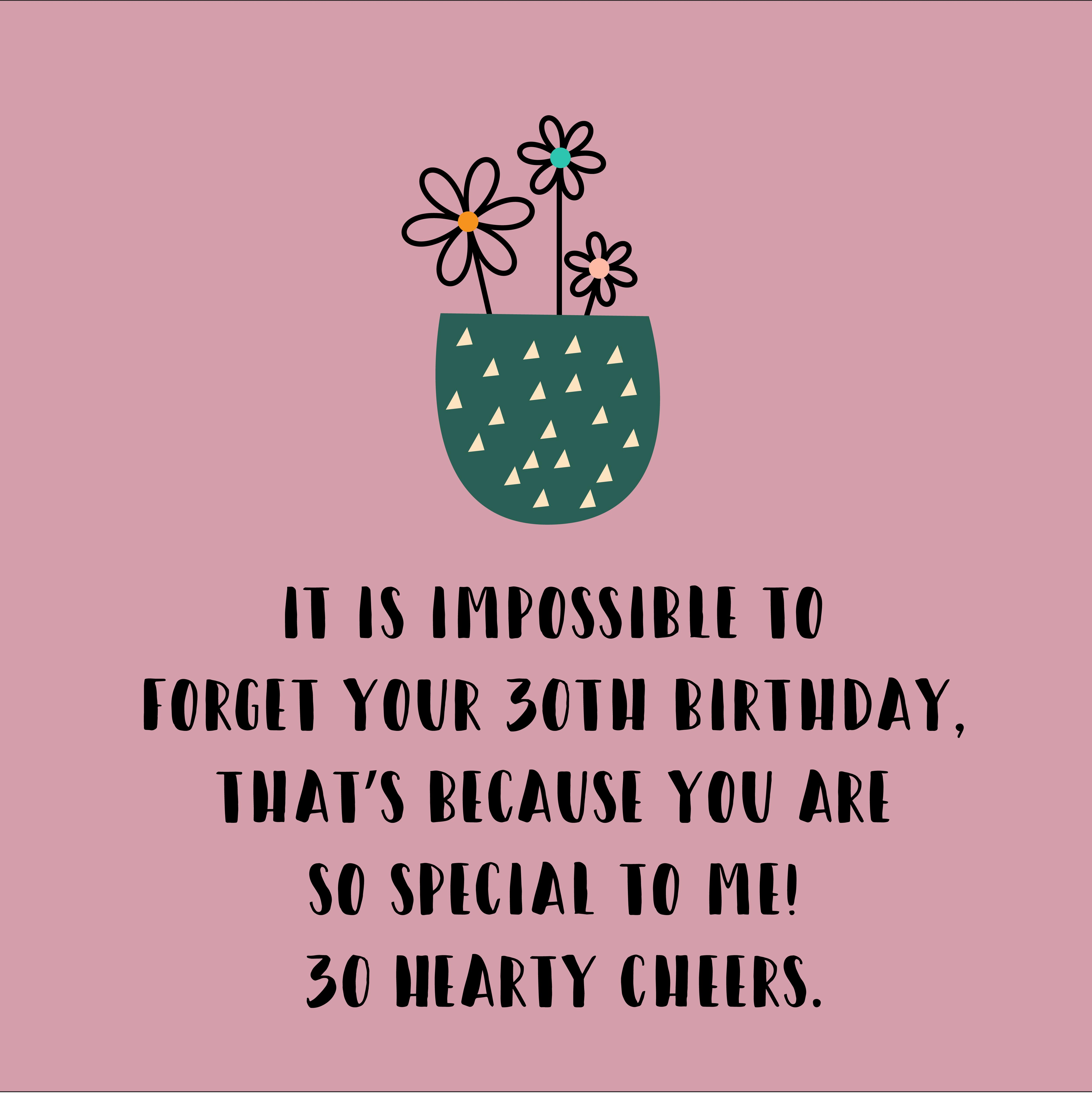 Unique Happy 30th Birthday Quotes And Wishes Top Happy Birthday Wishes