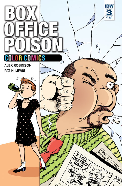 Box Office Poison Color Comics #3