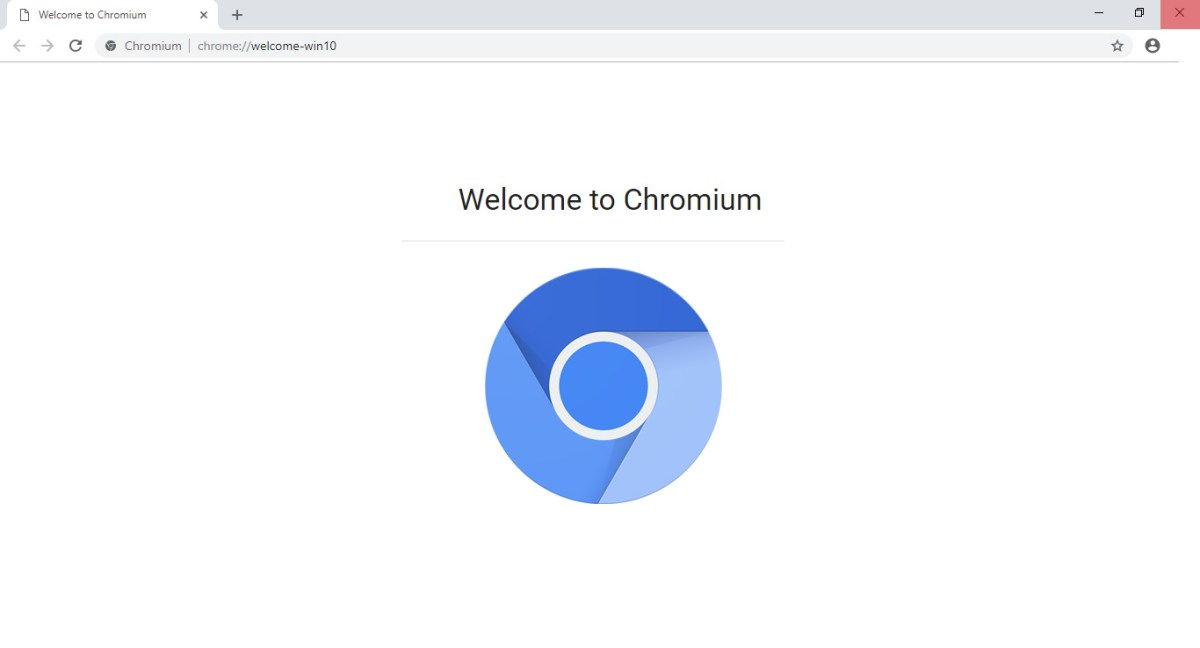 Chromium Desktop Window