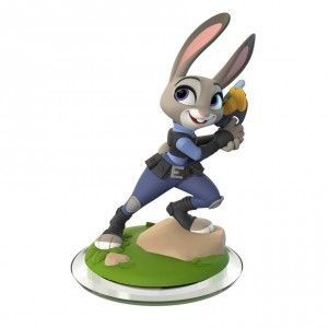 Judy Hopps character figure from Disney Infinity 3.0 (Judy Hopps is from Zootopia) Image Credit: Disney Interactive