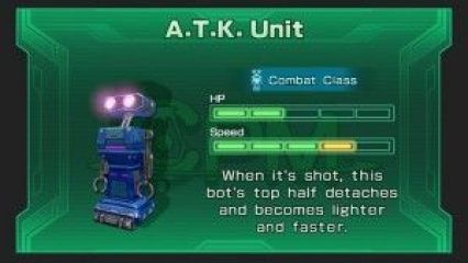 A.T.K. Unit, one of the many Combat Class robots in Star Fox Guard. Image Credit: Nintendo/Stephen Infantolino