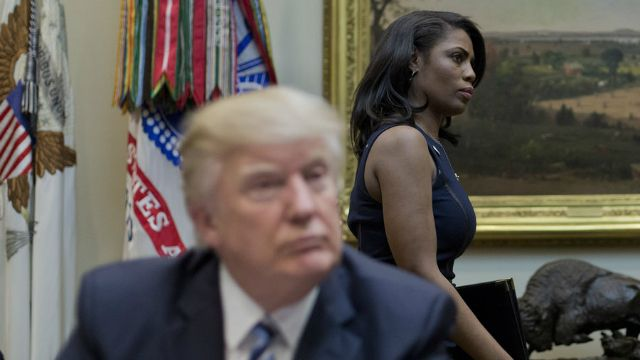 Omarosa hints someone in the White House is 'sleeping around with everyone.'