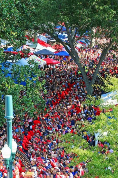 Ole Miss is the absolute best college!
