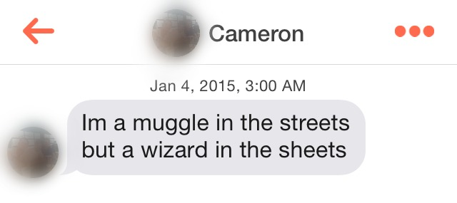 Total Sorority Move The Creepiest Tinder Pickup Lines