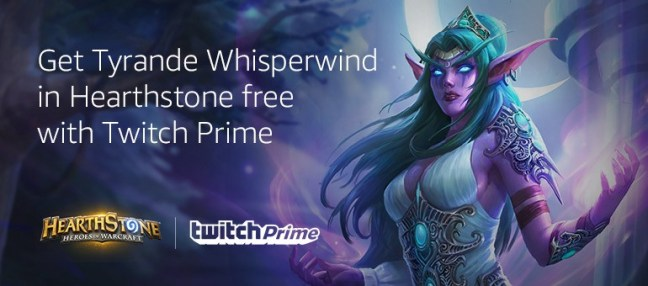 1-Fa_LI1YFE3bNvALV1MUfTw Twitch Prime Gets You Tyrande Whisperwind, 'Hearthstone' New Priest Hero, for Free Android News