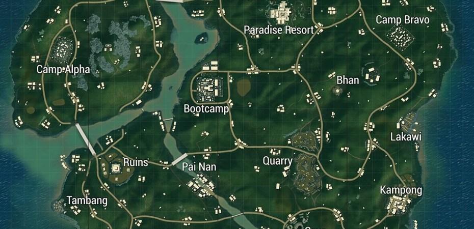 Map Planepath For Pubg 1 6 1 Apk: PUBG Loot Locations: Best Places