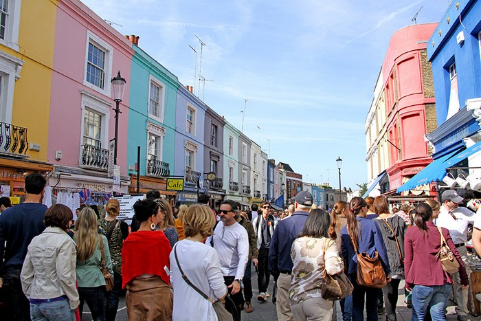 Vibrant London Landmarks: Portobello Market and Chinatown ...