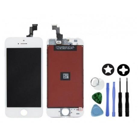 ecran pour iphone 5s blanc lcd origine