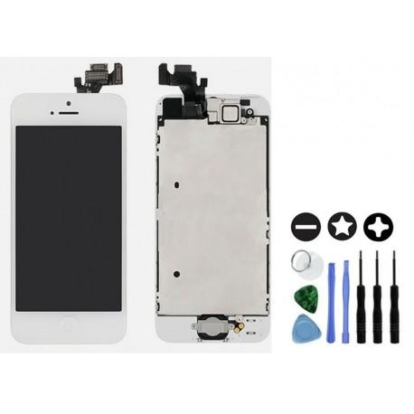 ecran complet de remplacement blanc pour iphone 5