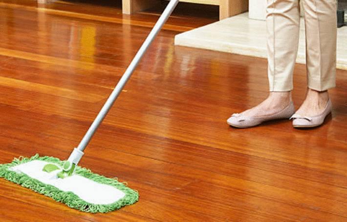 comment nettoyer un parquet huile