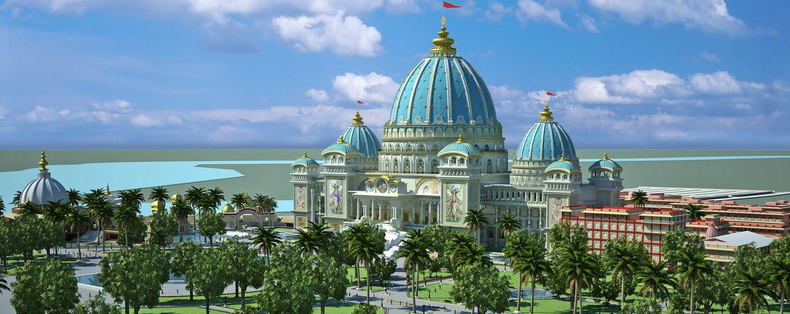 Temple Of The Vedic Planetarium Home