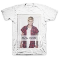 Justin Bieber Flannel Logo Tシャツ Mサイズ