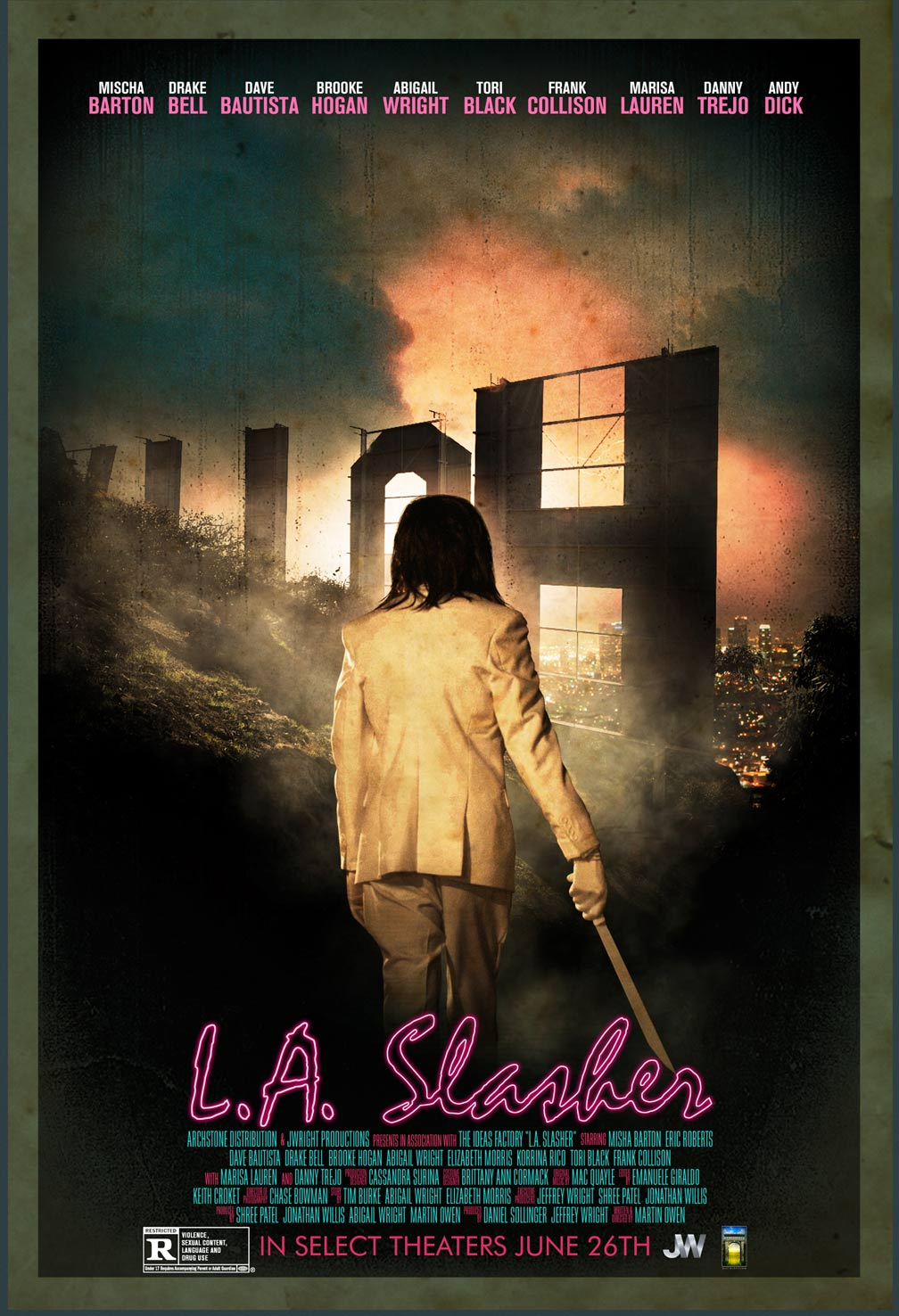 Poster do filme L.A. Slasher